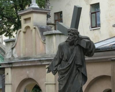 (eng) yard in the Armenian Church