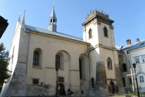 (eng) church and monastery benedyktok (1595)