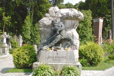 (eng) grave of Ivan Franko