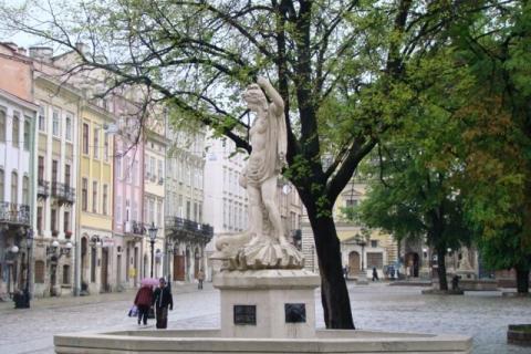 (eng) Rynok Square.Amphitrite